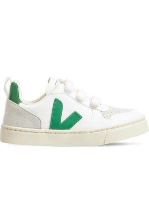 Veja | Niño Sneakers V-10 De Algodón Y Ante Con Correas 27