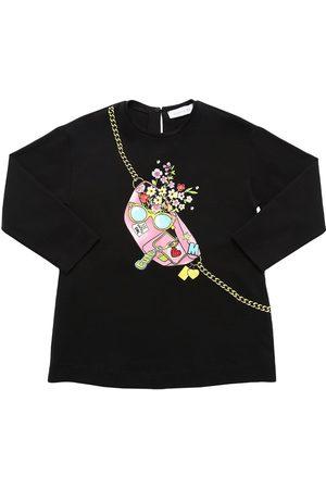 MONNALISA | Niña Camiseta De Jersey De Algodón Estampada 12a