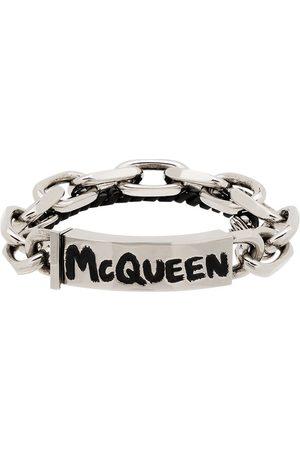 Alexander McQueen Graffiti chain bracelet