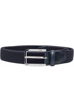 HUGO BOSS Hombre Cinturones - Cinturón tejido con hebilla