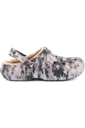 Crocs Classic Lined Bleach Dye Clog , Mujer, Talla: US 7