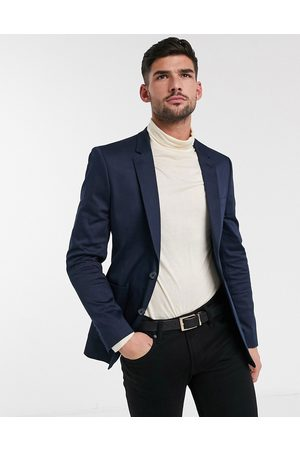 ASOS Hombre Blazers - Americana entallada de algodón de Wedding