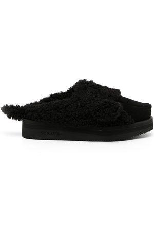 DOUBLET Slippers de pelo artificial