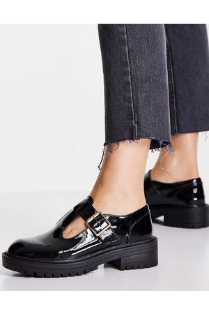 Schuh Mujer Calzado casual - Zapatos planos negros de estilo merceditas de charol Lani de
