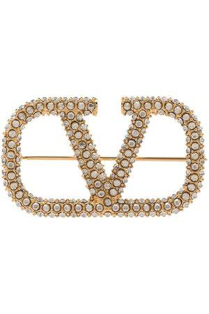 VALENTINO GARAVANI Mujer Broches - Broche con detalles de cristales