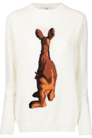 tibi Jersey Kangaroo