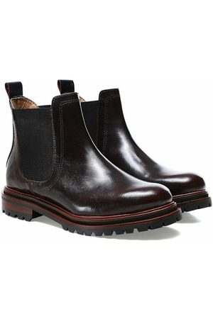 Hudson Wisty Patent Chelsea Boots , Mujer, Talla: UK 5