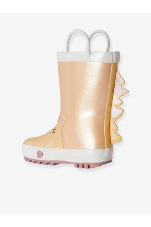 Vertbaudet Niña Botas de agua - Botas de agua Unicornio para niña, especial autonomía oscuro metalizado