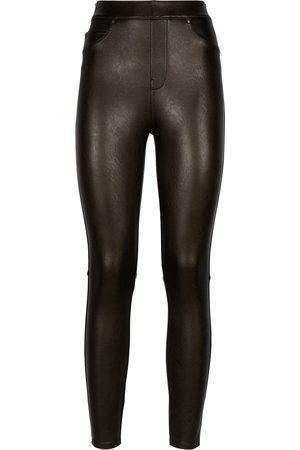 Spanx Mujer Pantalones de cuero - Pantalones skinny de piel artificial