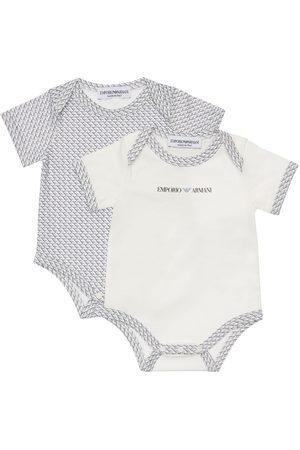 Emporio Armani | Niño Set De 2 Bodies De Jersey De Algodón 1m