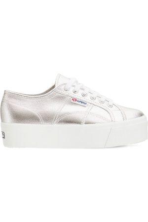 Superga   Mujer Sneakers 2790 De Lona Metalizada 41