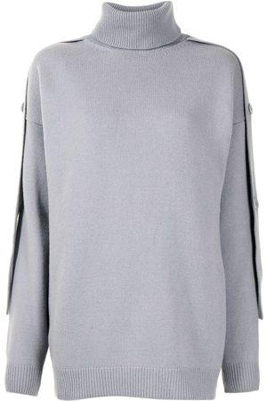 tibi Mujer Cuello alto - Jersey con cuello vuelto