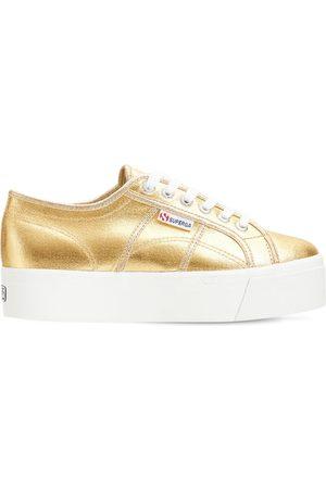 Superga   Mujer Sneakers 2790 De Lona Metalizada 35