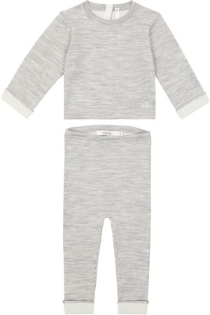 BONPOINT Bebé - set Thai de top y pantalones de lana