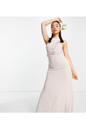 TFNC Mujer Largos - Vestido de dama de honor largo multiposición de