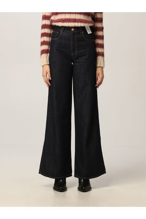 Pt, Mujer Cintura alta - Jeans Mujer color Denim