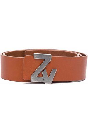 Zadig & Voltaire Cinturón con hebilla del logo