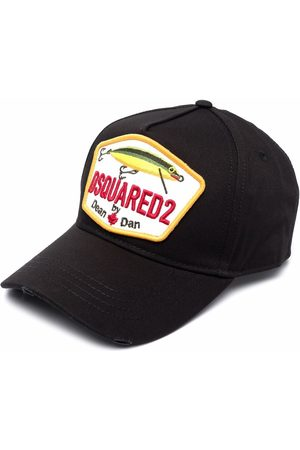 Dsquared2 Fishing logo-patch baseball cap