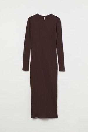 H&M Vestido de canalé
