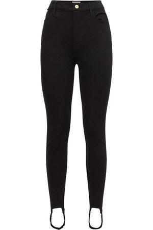 Frame   Mujer Jeans Cintura Alta Ali Con Estribos 24