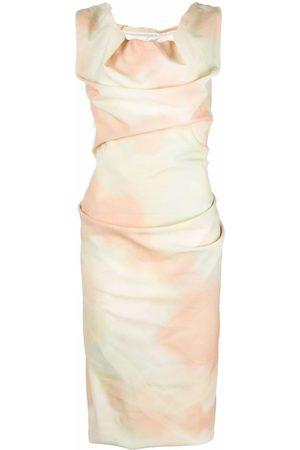 Vivienne Westwood Vestido con detalle drapeado