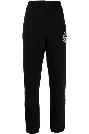 Markus Lupfer Pantalones joggers con logo bordado