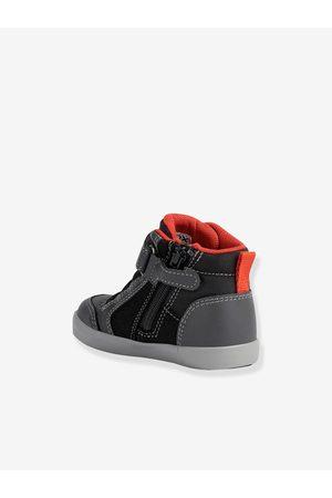 Geox Bebé Zapatillas deportivas - Zapatillas MID B Gisli Boy ®, para bebé oscuro liso con motivos