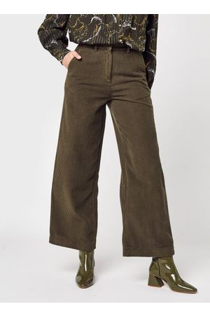 Knowledge Cotton Apparal POSEY Loose Heavy Cord Pants - GRS/Vegan