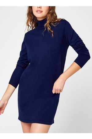 Knowledge Cotton Apparal HEATHER Merino Roll Neck Dress - GOTS