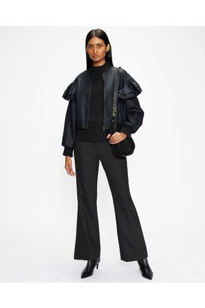 Ted Baker Exaggerated Frill Bomber Jacket