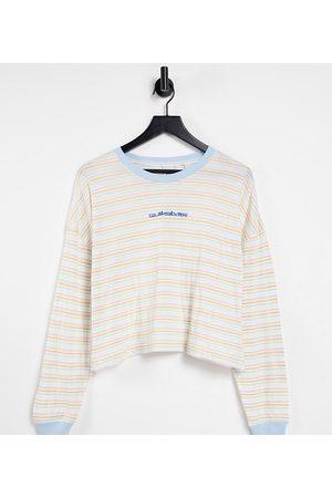 Quiksilver Camiseta High Town Rainbow exclusiva en ASOS de -Verde