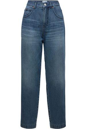 Victoria Beckham   Mujer Jeans Rectos Diana De Denim De Tiro Medio 24