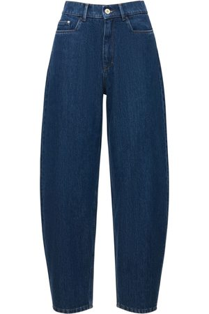 Wandler   Mujer Jeans Abombados Con Cintura Alta Chamomile 25