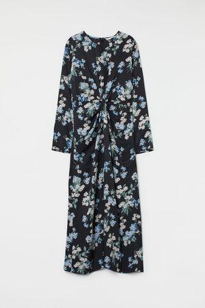 H&M Mujer Midi - Vestido con detalle anudado