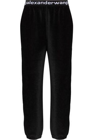 Alexander Wang Mujer Chándals - Pantalones de chándal de pana stretch