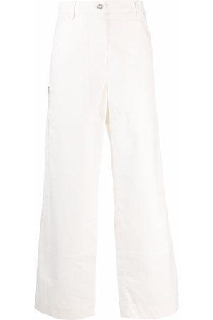 Jil Sander Pantalones anchos de talle bajo