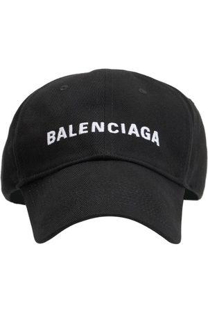 Balenciaga Hombre Gorras -   Hombre Logo Embroidery Baseball Cap /blanco L