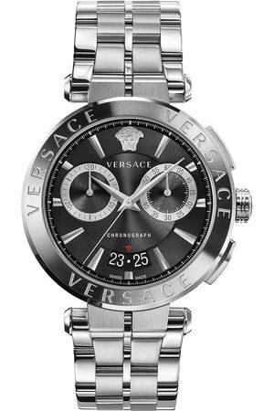 VERSACE Reloj analógico VE1D01520, Quartz, 45mm, 5ATM para hombre