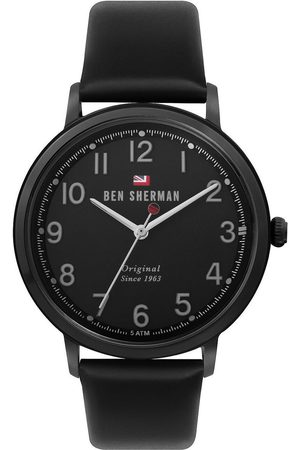 Ben Sherman Reloj analógico WBS113BB, Quartz, 41mm, 3ATM para hombre