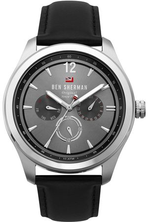 Ben Sherman Reloj analógico WBS112B, Quartz, 44mm, 10ATM para hombre