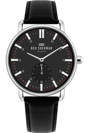 Ben Sherman Reloj analógico WB033BB, Quartz, 41mm, 3ATM para hombre