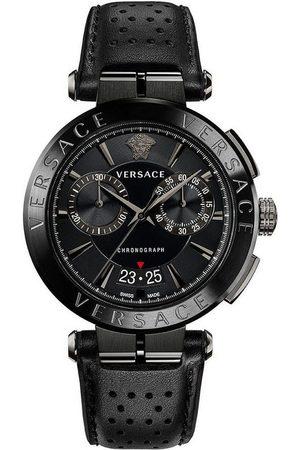VERSACE Reloj analógico VE1D01420, Quartz, 45mm, 5ATM para hombre