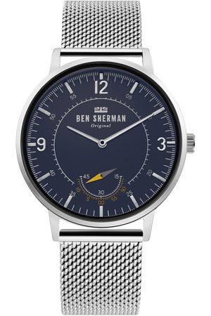 Ben Sherman Reloj analógico WB034USM, Quartz, 41mm, 3ATM para hombre