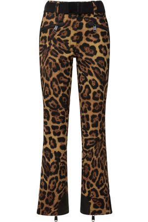 Goldbergh   Mujer Pantalones De Esquí Softshell Estampados 38