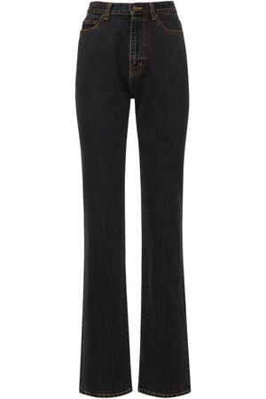 Saint Laurent | Mujer Jeans '90s Con Cintura Alta 31