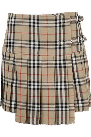 Burberry Mini skirt , Mujer, Talla: UK 10