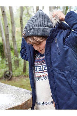 Vertbaudet Gorro espíritu skater Oeko Tex® para niño medio jaspeado