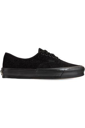Vans   Mujer Sneakers Og Authentic Lx De Terciopelo /negro 4