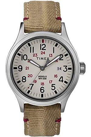 Timex Reloj Analógico para Hombre de Cuarzo con Correa en Cuero TW2R61000