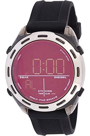 Diesel Reloj 0 para Hombre de Digital con Correa en Silicona DZ1893